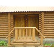Домик для отдыха дома деревянные дома из оцилиндрованного бревна купить Кременная фото