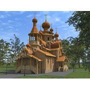 Дома из деревянного бруса. Дома из оцилиндрованного бревна. фото