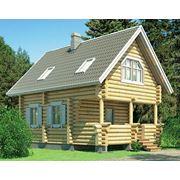 Дома деревянные строительство коттеджей фото
