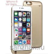 Чехол-зарядка + power bank на iPhone 6 /6S 10 000 mah Золотой 86774 фото