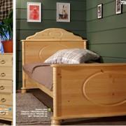 Детская кровать айно массив 80*190 фото