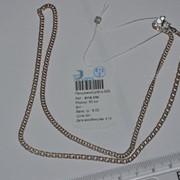 Цепь серебряная позолоченная Арт 811А 3/50 фото