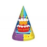 Колпак Торт Birthday 6 т G фото