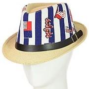 Шляпа Челентанка 12017-17 синий фото