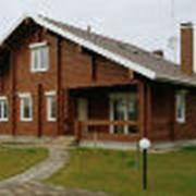 Строительство деревяных домов фото