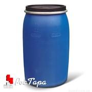 Бочка пластиковая со съемной крышкой 220 литров фото