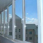 Теплое остекление лоджий и балконов фото