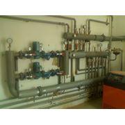 Монтаж обособленных систем отопления Украина фото