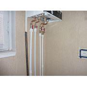 Установка электрических систем отопления Донецк Украина фото
