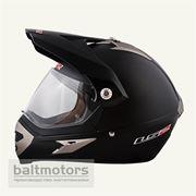 Шлемы MX433-3 (со стеклом) черный