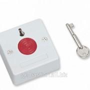 Кнопка тревожная с фиксацией (пластиковый ключ) НО 01 фото
