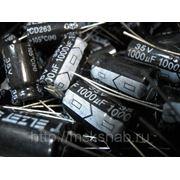 Конденсатор К50-35 220mkf - 100v (105°C) Электролит 16*25 фото
