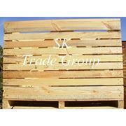 Овощной деревянный контейнер 1600х1200х1200 мм.