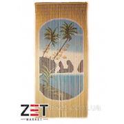 Шторы цветные из бамбука плетенная 90*200 опт фото