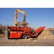 Агрегаты для переработки строительных отходов Первичный предварительный измельчитель Hammel VB 750 D фото