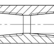 Муфта двойная PN40 c внутренней 2-сторонней NPT-резьбой