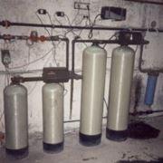 монтаж систем очистки воды фото