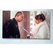 Свадебная фотография на холсте фото