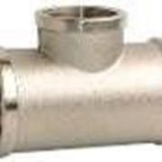 Тройник 1/2 34- М-М-М 15*150 никель фото