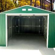 Изготавливаем металлические гаражи, бытовки, заборы, ларьки, навесы фото