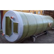 Резервуары колодцы канализационных станций (стеклопластик) фото