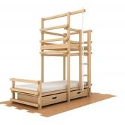 Детская игровая кровать башня Abra-Kids