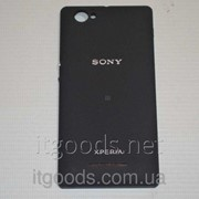 Крышка задняя черная для Sony Xperia M C1904 | C1905 | C2004 | C2005 4883 фото