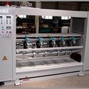 Спуско-подъемная машина продольной резки-рилевки с тонкими самозатачивающимися ножами SS-150P фото