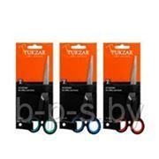 Ножницы Tukzar: пластиковые ручки, резиновые вставки 18 см фото
