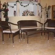 Комплект плетеной мебели из ротанга Идиллия фото