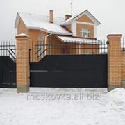 Ворота откатные св03 фото