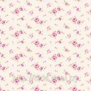 Хлопковая ткань Тильда Mini Rose White фото