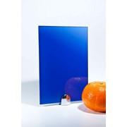 Декоративное стекло Luminous Blue RAL 500 фото