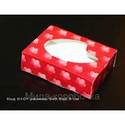 Коробочка Код 0101 размер 9х6.5х2.5 см цена 2,50 грн фото