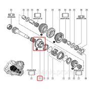 Шестерня КПП - 6-й передачи на Renault Trafic 01-> — Renault (Оригинал) - 82 00 022 613 фото