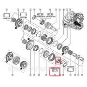 Подшипник КПП на Renault Trafic 01-> 25x52x16.25 — Renault (Оригинал) - 82 00 058 403 фото