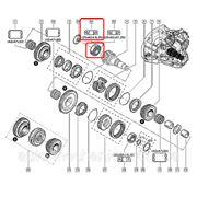 Подшипник КПП на Renault Trafic 01-> 25x62x18.25 — Renault (Оригинал) - 82 00 024 411 фото