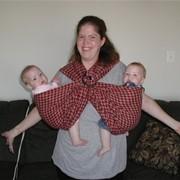 Слинг-шарф фото