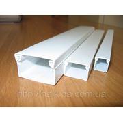 Кабель канал, короб для скрытой прокладки кабеля фото