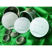 Коробки для трубы и кабеля круглые 60х50, 70х50 и 80х50 mm наружные с 4-мя сальниками кабель-вводами до 25mm: ISO 9001, УКРСЕПРО фото
