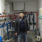 Монтаж отопления, водоснабжения, канализации фото