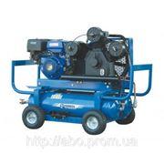 Компрессор Aircast СБ4/С-90.V90.SPE390R/E с автономным приводом, бензин/электрика фото