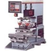 Профессиональный 2-х красочный станок для тампонной печати Adelco 123 фото