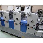 RYOBI 3304H 1998г. 4-х красочная офсетная печатная машина фото
