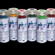 Краска в баллончике Color Dip, объем 400 гр Sparkle Clear фото