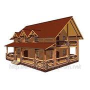 Проэкты домов из оцилиндрованного бревна фото