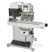 Двухкрасночный станок тампонной печати с лазерным маркером Kent LM-PP 2 фото