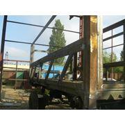 Изготовление прицепов под заказ реставрация грузовых прицепов навесами с поликарбонатной кровлей и т.п.) фото