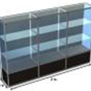 Торговое и выставочное оборудование из стекла. фото
