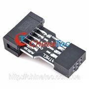 Адаптер 10 Pin на 6 Pin для ATMEL AVR ISP USBASP STK500 Convert фото